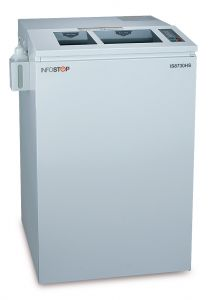 INFOSTOP High Security | NSA Approved IS8730HS Combination Paper & Optical Media Shredder