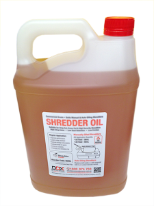 Bulk Shredder Oil 5L