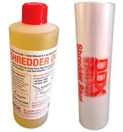 Consumables Starter Pack - For Manual Feed Shredders