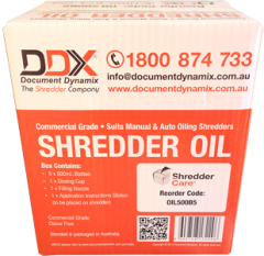 Shredder Oil 5x 500ml