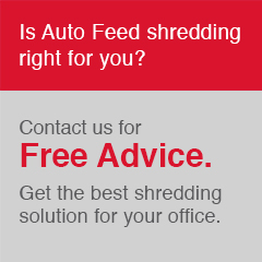 Is Auto Feed shredding right for you?