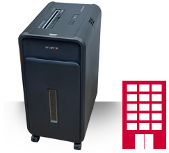 Paper shredders suited for offices