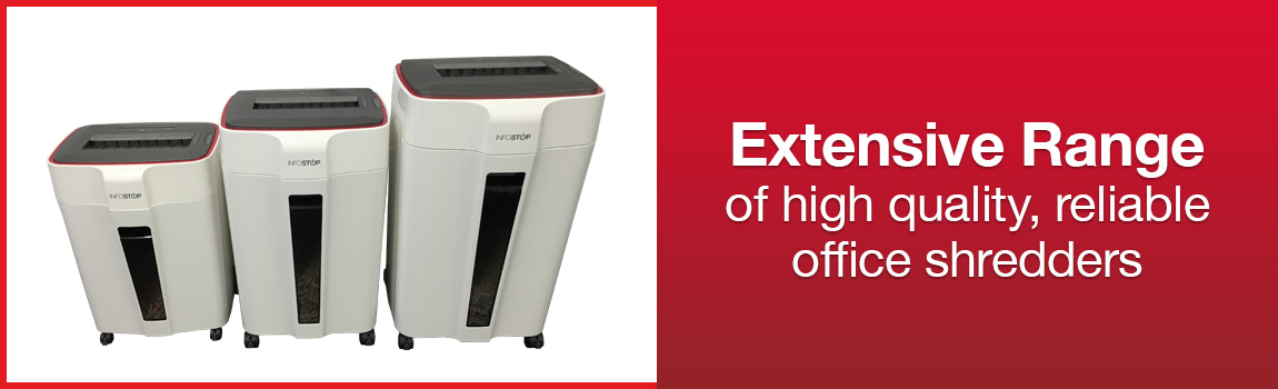 Our paper shredder range