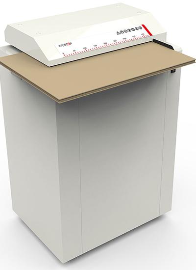 CB430 INFOSTOP Cardboard shredder & perforator